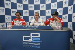 Adam Carrol pole, Lewis Hamilton, Alexandre Premat