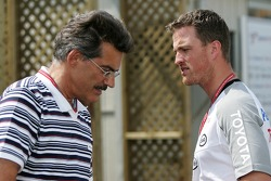 Dr. Mario Theissen and Ralf Schumacher