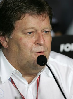 FIA press conference: Norbert Haug