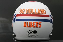 Special Edition helmet of Christijan Albers