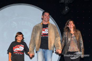 Max and Tatiana Papis with Pietro Fittipaldi