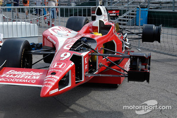 Cutaway Indy car, used by ABC as a teaching aid during the telecast