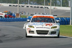 #70 SpeedSource Mazda RX-8: Sylvain Tremblay, David Haskell