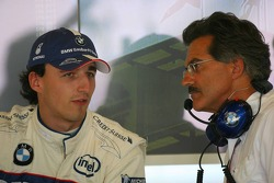 Robert Kubica with Dr. Mario Theissen