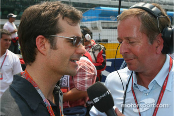 Martin Brundle interviews Jeff Gordon