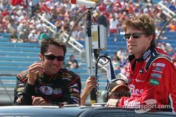 David Stremme and Carl Edwards