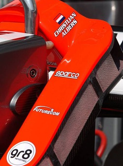Head rest of Christijan Albers