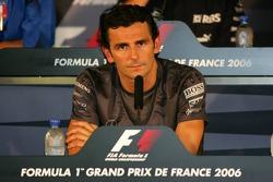 FIA press conference: Pedro de la Rosa