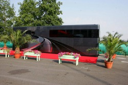 The motorhome of Bernie Ecclestone