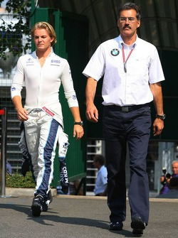 Dr. Mario Theissen and Nico Rosberg
