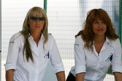 Hot security girls