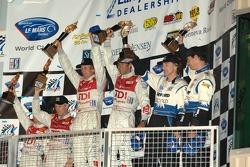 LMP1 podium celebration