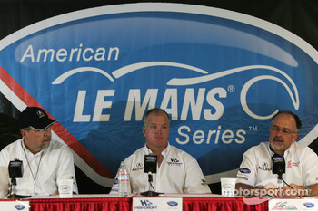 Acura press conference: Robert Clarke, Duncan Dayton and Kim Green