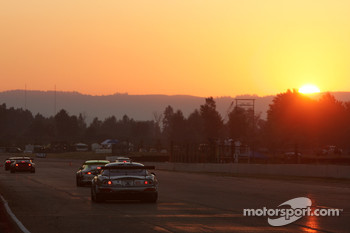 Sunset at Portland International Raceway