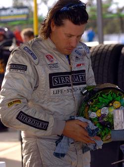 Steven Ellery before the race
