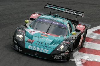 #2 Vitaphone Racing Team Maserati MC 12 GT1: Vincent Vosse, Jamie Davies, Thomas Biagi
