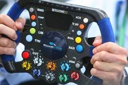 Williams FW28 steering wheel