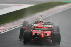 Michael Schumacher and Jenson Button