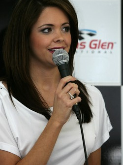 Press conference with Miss America