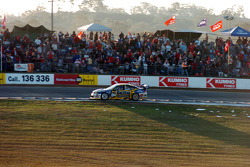 Craig Lowndes on his final lap
