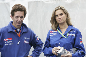 Marc Van Dalen and Marie-Pierre Rossi