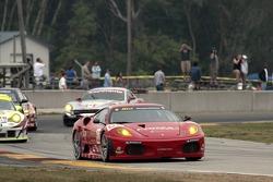 #62 Risi Competizione Ferrari 430 GT Berlinetta: Stéphane Ortelli, Mario Dominguez