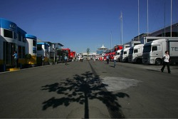 Istanbul Otodrom paddock