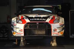Nissan garage area