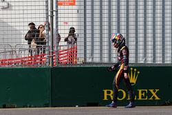 Max Verstappen, Scuderia Toro Rosso, valt uit