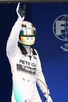Lewis Hamilton, Mercedes AMG F1 gets pole position