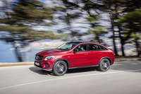 Ther Mercedes GLE AMG Coupé