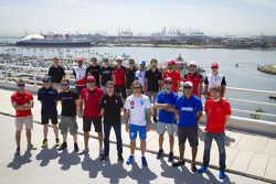 Drivers group photo at Long Beach
