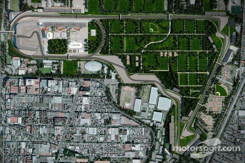 Circuito del aut dromo hermanos rodr guez m xico at gp de for Puerta 5 autodromo hermanos rodriguez