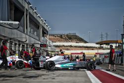 Jazeman Jaafar, Fortec Motorsports, in the pitlane