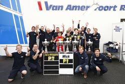 Joey Mawson and winner Mick Schumacher, Van Amersfoort Racing