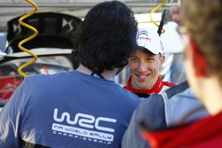 Winner Kris Meeke, Citroën World Rally Team