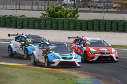 Michael Nykjaer, SEAT Leon Racer, Target Competition anPepe Oriola, SEAT Leon Racer, Team Craft-Bamboo LUKOIL