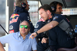 Christian Horner, Red Bull Racing, Sporting Director and Gerhard Berger