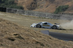 #8 Synergy Racing Porsche Doran: Spencer Pumpelly, Patrick Huisman off in the dirt