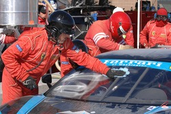 Windshield wash for #62 Corsa GT Motorsports Ferrari F430 CH: Steve Pruitt, Cort Wagner, Alex Quaid