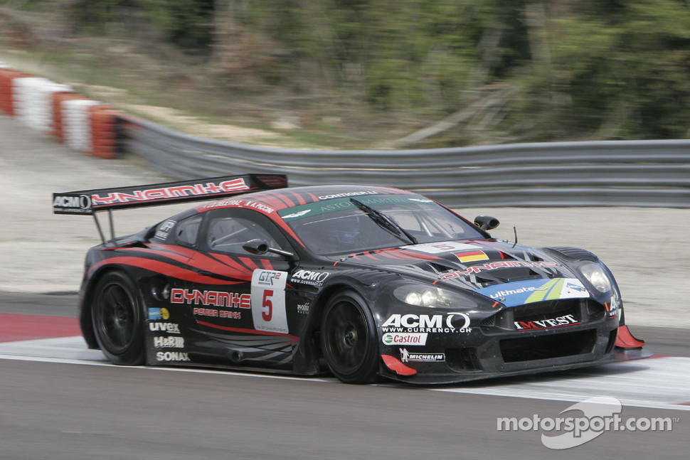 #5 Phoenix Racing Aston Martin DBR 9: Jean-Denis Deletraz, Andrea Piccini