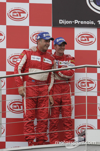 GT2 podium: second place Chris Niarchos and Tim Mullen