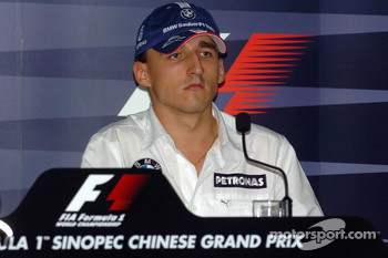 FIA Thursday press conference: Robert Kubica