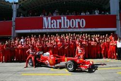 Scuderia Ferrari photoshoot