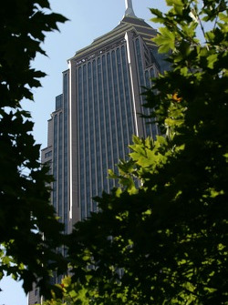 Visit of Atlanta: the Bank of America building