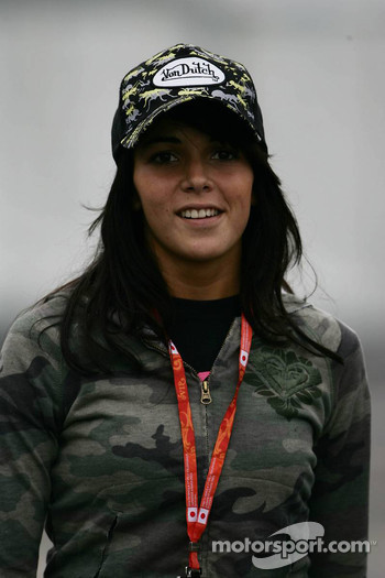 Raquel Rosario, girlfriend of Fernando Alonso