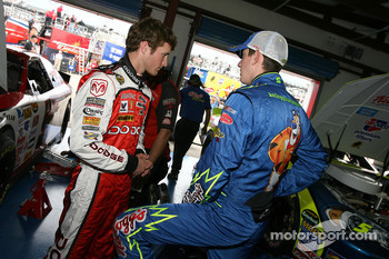 Kasey Kahne and Kyle Busch