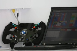 BMW Sauber F1 Team steering wheel