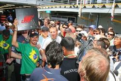 Tiago Monteiro and friends