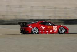 #62 Risi Competizione Ferrari 430 GT Berlinetta: Stéphane Ortelli, Mika Salo